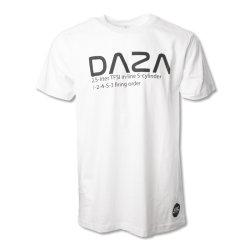 T- Shirt DAZA weiss