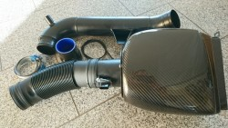 80mm Ansaugung mit Luftmassenmesser und Carbon Intake