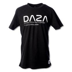 T-Shirt DAZA schwarz